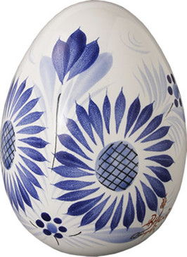 Decorative Egg - Camaieu Blue