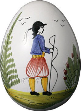 Decorative Egg - Man - Tradition