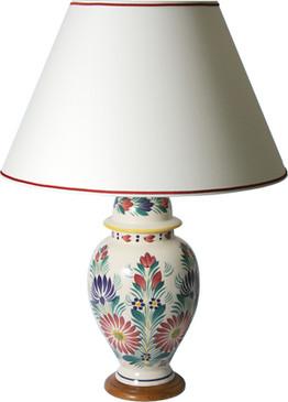 Round Lamp - Fleuri