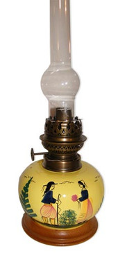 Oil Lamp - Soleil Yellow