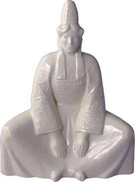 Breton Woman Sitting - Georges Robin