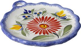 Dish with Handle - Fleuri Royal
