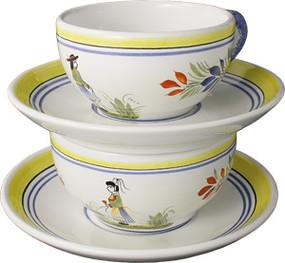 Tea Cup & Saucer - Henriot
