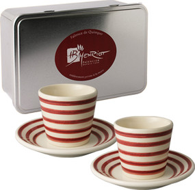 Espresso Box Set - Marine Red