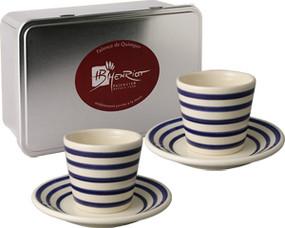 Espresso Box Set - Breton Stripes Blue