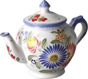 Tea Pot - Fleuri Royal