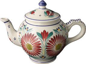 Tea Pot - Fleuri