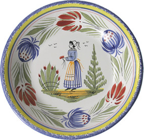 Miniature Plate - Woman - Tradition