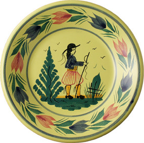 Miniature Plate - Soleil Yellow - Man