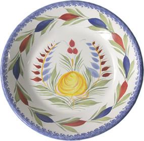 Miniature Plate - Fleuri Royal