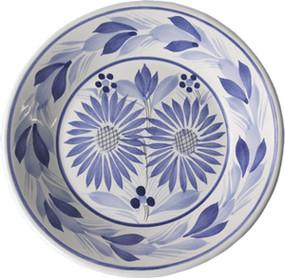 Miniature Plate - Camaieu Blue