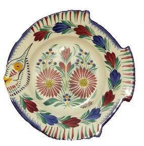Fish Plate - Fleuri