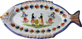Fish Platter - Mistral Blue