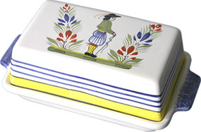 Covered Butter Dish - Henriot