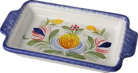Butter Dish - Fleuri Royal