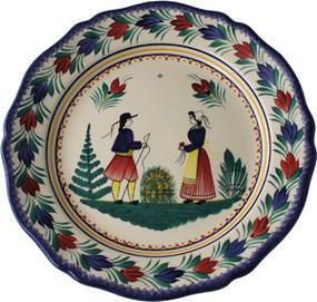 Deep Round Platter - Campagne