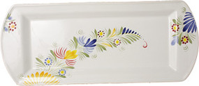 Rectangle Platter - Quimper Touch