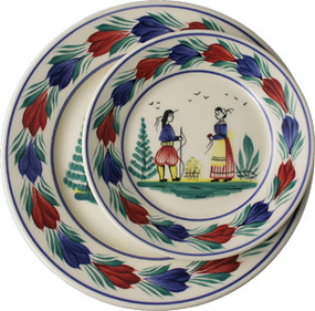 Round Plate - Campagne