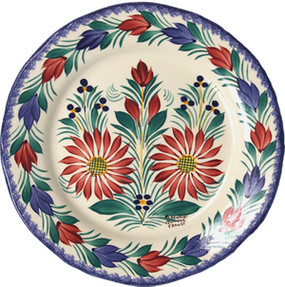 Fluted Plate - Fleuri