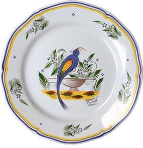 Fluted Plate - Jardin d'ete