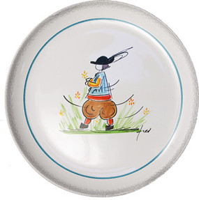 Child Plate - Fred Quellec - Boy