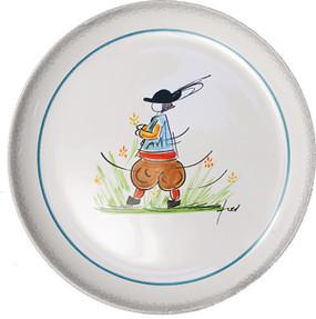 Child Plate - Fred Quellec - Boy