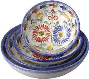 Serving Bowl - Fleuri Royal