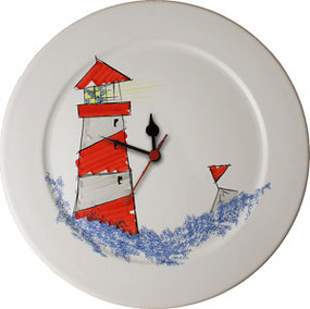 Wall Clock - Lighthouse