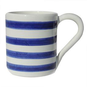 Coffee Mug - Breton Stripes Blue