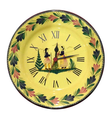 Wall Clock - Soleil Yellow