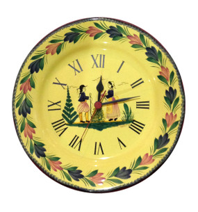 Wall Clock - Soleil Yellow