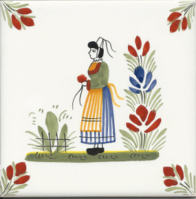 Woman - Henriot Tile