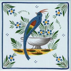 Bird - Jardin d'ete Tile
