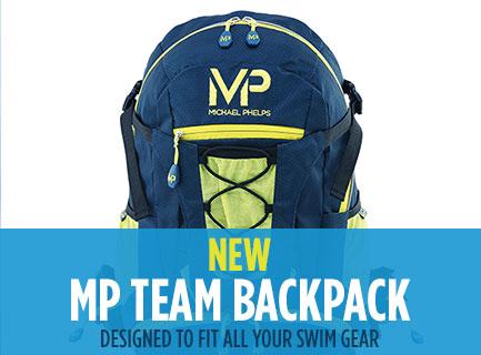 New Michael Phelps Swim Backpack