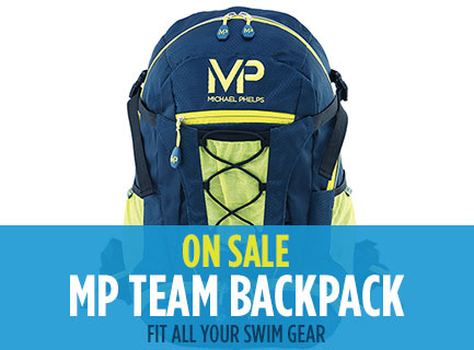 New Michael Phelps Swim Backpack On Sale