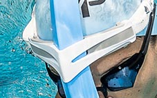 Swim Snorkel Cushioned Head Rest