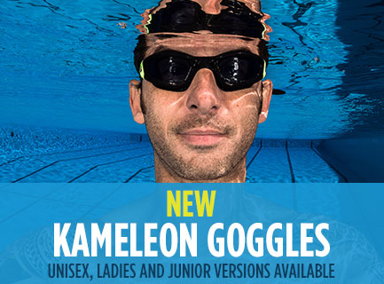 New Aqua Sphere Kameleon Swimming Goggles