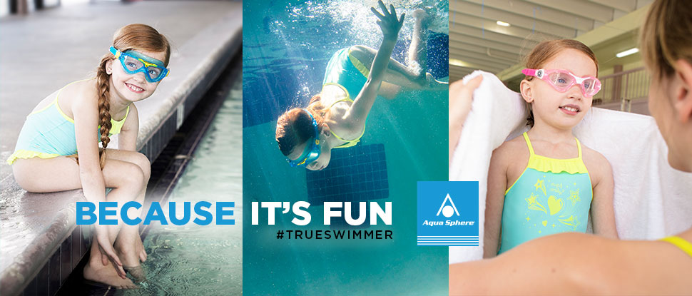 Aqua Sphere Kids Swimming Goggles