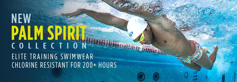Chlorine Resistant Training Swimwear For Men And Boys