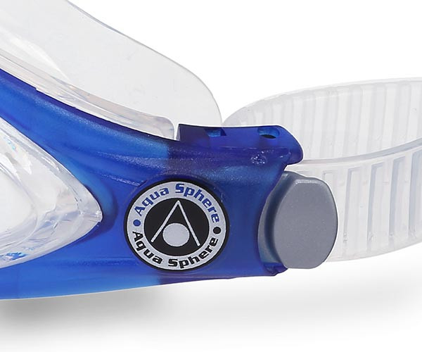 Easy to adjust buckles on the Eagle Swimming Goggles with Prescription Lenses