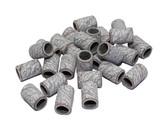 100 zebra cylindrical sanding bands, 150 grit.
