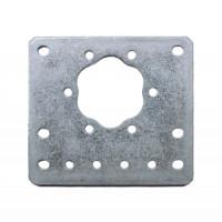 15mm Metal Flat Motor Bracket - 10Pack