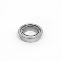 8mm x 12mm x 3.5mm Flanged Bearing - 10 Pack