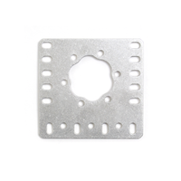 15mm Metal Flat HD Hex Motor Bracket V2 - 4 Pack