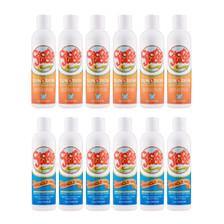 Six 8oz, 20 SPF, sunscreen/repellents Six 8oz Miracle Gels