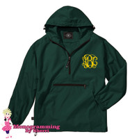 Charles River Pack N Go Pullover (Forest)
