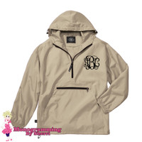 Charles River Pack N Go Pullover (Stone)