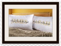 ALWAYS KISS ME GOODNIGHT PILLOWCASES