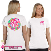 Lilly Pulitzer Inspired (Flamingo) T-Shirt