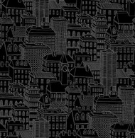 Limelight Black City Wallpaper